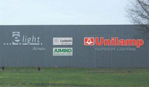 Acrylox letters 'Unilamp' E-light