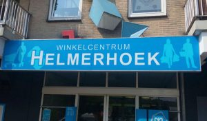 Lichtbak Winkelcentrum Helmerhoek