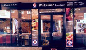 Belettering Keurslager Winkelman
